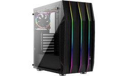Aerocool Klaw G-V1 RGB Window Black