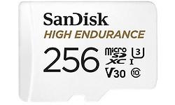 Sandisk High Endurance MicroSDXC UHS-I U3 256GB + Adapter