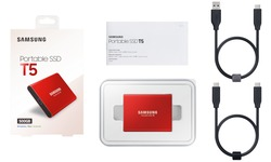 Samsung Portable SSD T5 500GB Red
