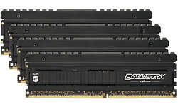 Crucial Ballistix Elite Black 32GB DDR4-3600 CL18 quad kit