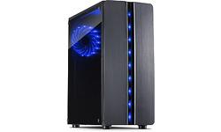Inter-Tech Thunder LED Black