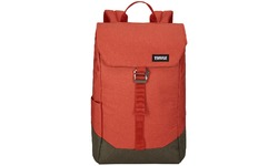 Thule Lithos Backpack 16L Red/Forest Night