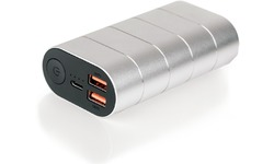 Verbatim Powerbank Quick Charge 3.0 USB-C 10000 Silver/Metal