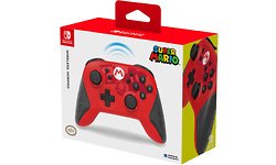 Hori Wireless Pro Controller Mario Nintendo Switch