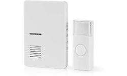 Nedis Wireless Doorbell Set White