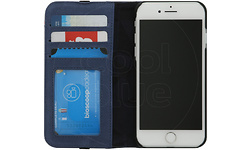 Decoded Leather Wallet Case For iPhone 8 / 7 Blue