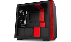 NZXT H210i Window Black/Red