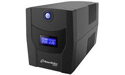 BlueWalker PowerWalker VI 600 STL UPS Black