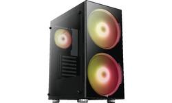 Aerocool Python RGB Window Black
