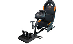 Qware Race Seat Black/Orange