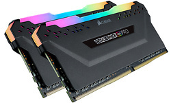 Corsair Vengeance RGB Pro Black 16GB DDR4-3600 CL18 kit 9 (AMD X570)