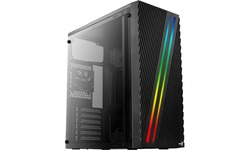 Aerocool Streak RGB Window Black