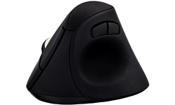 Videoseven Wireless Vertical Ergo Mouse Black