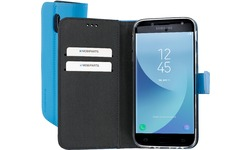 Mobiparts Premium Wallet TPU Case Samsung Galaxy J5 2017 Light Blue