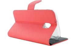 Mobiparts Premium Wallet TPU Case Samsung Galaxy J3 2017 Peach Pink