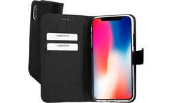 Mobiparts Premium Wallet TPU Case Apple iPhone X/XS Black