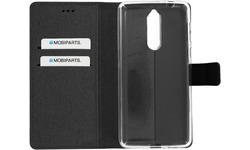 Mobiparts Premium Wallet TPU Case Nokia 8 Black