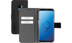 Mobiparts Premium Wallet TPU Case Samsung Galaxy S9 Black