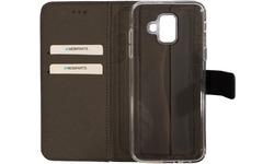 Mobiparts Premium Wallet TPU Case Samsung Galaxy A6 2018 Black