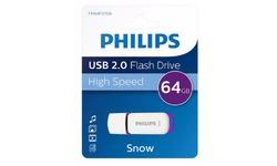 Philips Snow Edition USB 2.0 64GB Purple