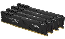 Kingston HyperX Fury Black 16GB DDR4-2400 CL15 quad kit