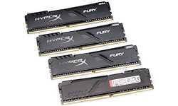 Kingston HyperX Fury Black 32GB DDR4-3200 CL16 quad kit