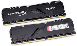 Kingston HyperX Fury RGB Black 16GB DDR4-2666 CL16 kit