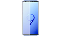 Azuri Samsung Galaxy S9 Screenprotector Curved Plastic Duo Pack