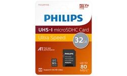 Philips MicroSDHC UHS-I 32GB + Adapter