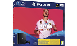 Sony PlayStation 4 Pro 1TB Black Fifa 20 + 14 Day PS Plus