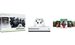 Microsoft Xbox One S 1TB White + Gears 5