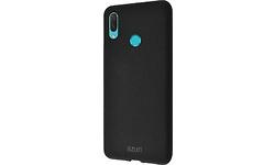 Azuri Flexible Sand Huawei P Smart 2019 Back Cover Black
