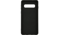 Azuri Flexible Sand Samsung Galaxy S10 Back Cover Black