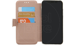 Azuri Wallet Magnet Apple iPhone X Book Case Rose Gold