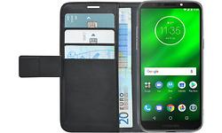 Azuri Wallet Magnet Motorola Moto G6 Play Book Case Black