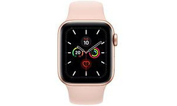 Apple Watch Series 5 40mm Gold Sport Band Rose Gold