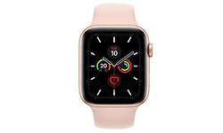 Apple Watch Series 5 44mm Gold Sport Band Gold