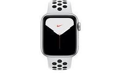 Apple Watch Nike Series 5 40mm Silver Sport Band Black/White