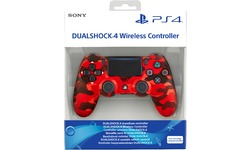 Sony DualShock 4 Controller v2 Red Camouflage