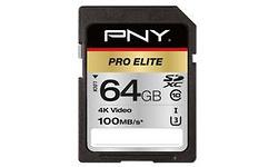PNY Pro Elite SDXC UHS-I 64GB