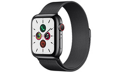 Apple Watch Series 5 4G 44mm Black/Silver Sport Loop Black