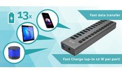 i-Tec USB 3.0 Charging Hub 13-port 60W