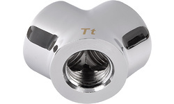 Thermaltake Pacific G1/4 Y Adapter Chrome