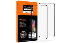 Spigen Full Cover Glass Protector Apple iPhone 11 Pro Black 2-pack