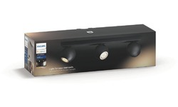 Philips Philips Hue Buckram 3-Spot Black + Dimmer
