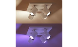 Philips Hue Argenta 4-Spot White & Colour White