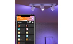 Philips Hue Argenta 3-Spot White & Colour White
