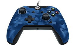 PDP Wired Controller Blue Camo