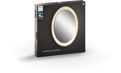 Philips Hue Adore Bathroom Lighted Mirror White Ambiance