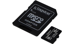 Kingston Canvas Select Plus MicroSDHC UHS-I 16GB + Adapter 2-pack
